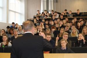 Lars Løkke Rasmussen på besøg den 26. februar 2015