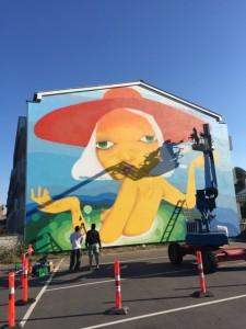 Kommunen inviterer til grafitti