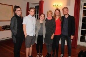 """Mette Bock sammen med """"vækstlaget"""" i LA - Lib All Ungdom"""