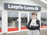 Bogholder hos Lavpris-Laase.dk ApS Christina Skourup er glad for den høje effektivitet i regnskabsprogrammet Winkompas fra det nordiske softwarehus Visma.