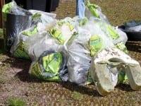 Vellykket affaldsindsamling