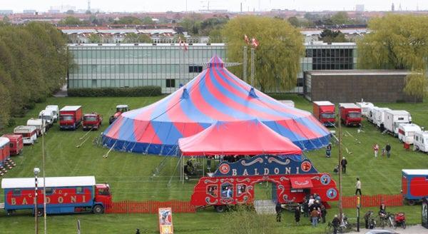 Cirkus Baldoni besøger Næstved
