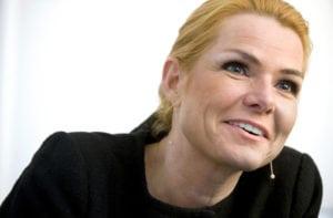 Inger Støjberg, integrationsminister. Fotograferet i ministeriet.