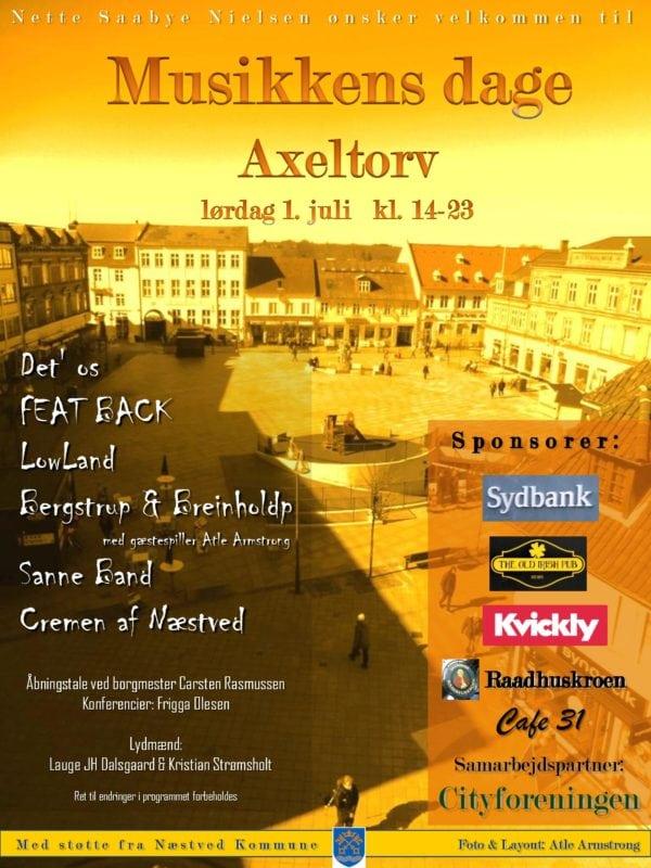 Musikkens dage på Axeltorv