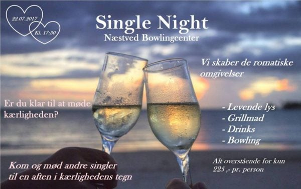 Single Night i Næstved Bowlingcenter