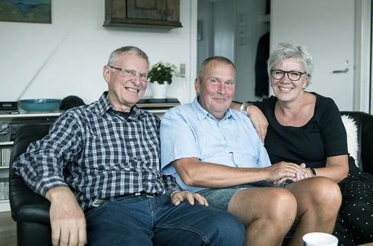 Per hjælper demensramt familie