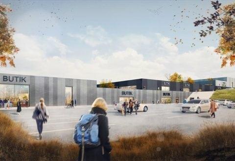 Går alt efter planen, kan det nye handelsområde åbne allerede om to år. Foto: Innovater.