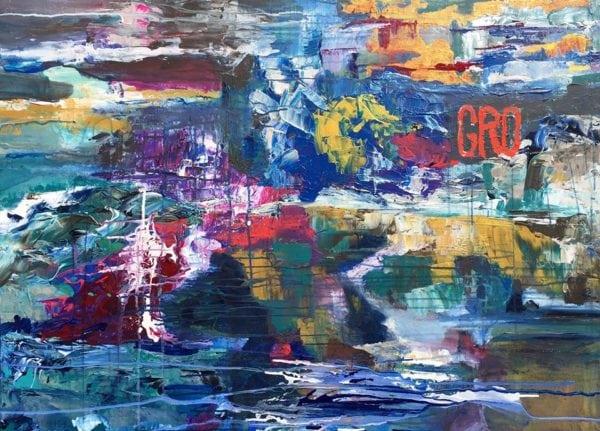 Maleri stjålet fra galleri