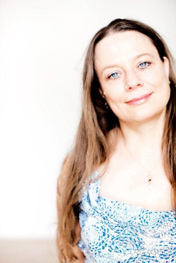 Forfatteraften med Merete Pryds Helle