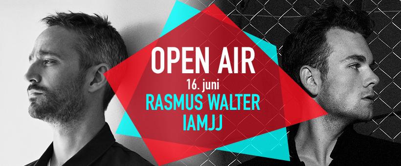 Rasmus Walter og IAMJJ på OPEN AIR
