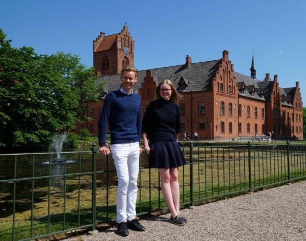 Rundvisninger på Herlufsholm i ferien