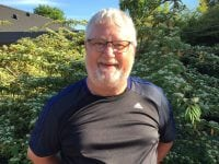 Lokalrådsformanden i Mogenstrup, Varnny Mattsson ser frem til at Sundhedskonsulenter giver gratis servicetjek af kroppen i Mogenstrup d. 14. juni i Mænds Sundhedsuge. Foto: Næstved Kommune.