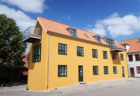 Flot restaurering af den over 100 år gamle bygning i Møntergade. Foto: Næstved Kommune.