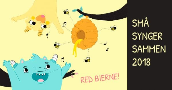Små Synger Sammen på Næstved Musikskole