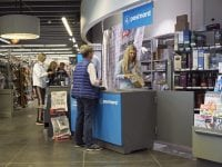 PostNords posthuse er placeret hos samarbejdspartnere over hele landet. Foto: Henrik Petit.