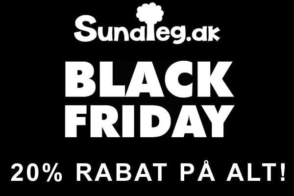 Black Friday Lagersalg