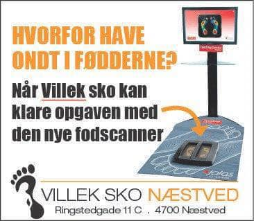 Få scannet dine fødder