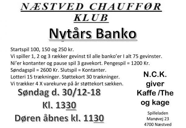 Nytårsbanko