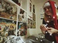 Alexia Christensen fra skuespillinjen har en drøm om at medvirke i en julekalender. Foto: Talentskolen