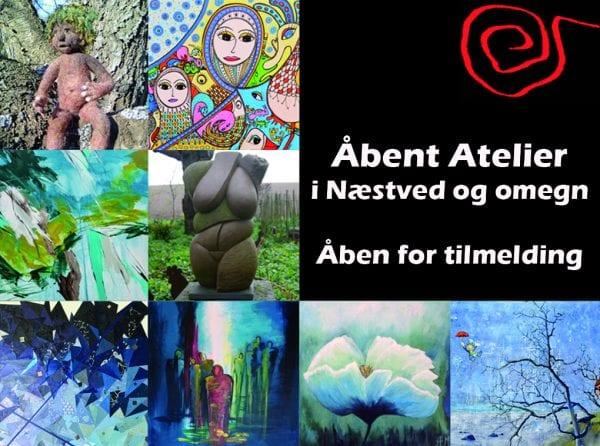 Er det i år, du skal deltage i Åbent Atelier?