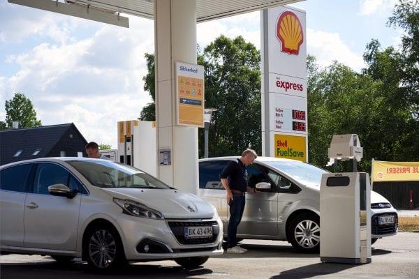 Shell station genopstår på Karrebækvej