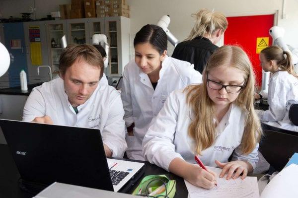 450 elever dyster i Biotekmesterskaberne