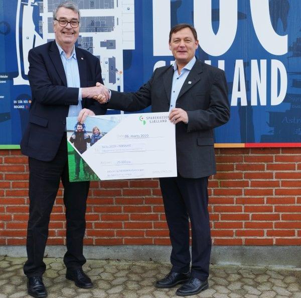 Stor donation til EUC Sjællands håndværkerguld