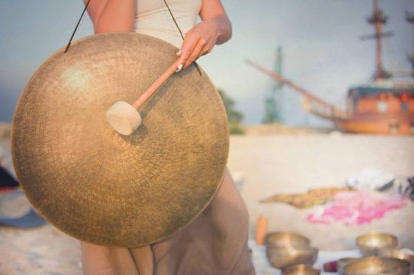 Gong Workshop v/Tina Maria Stahl