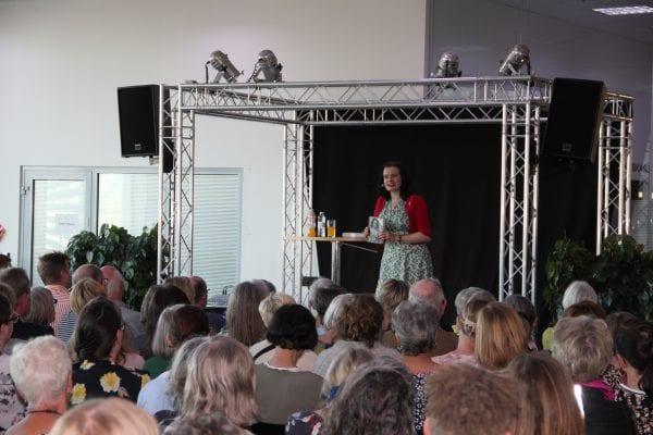 Leonora Christina Skov mødte sine mange læsere