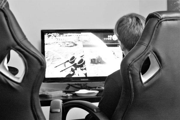 Gaming kan skade synet