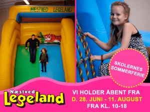 Besøg Næstved Legeland inden ferien er helt forbi