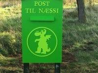 Næssis postkasse tager imod tegninger i efterårsferien.