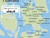 Småbyer i Region Sjælland